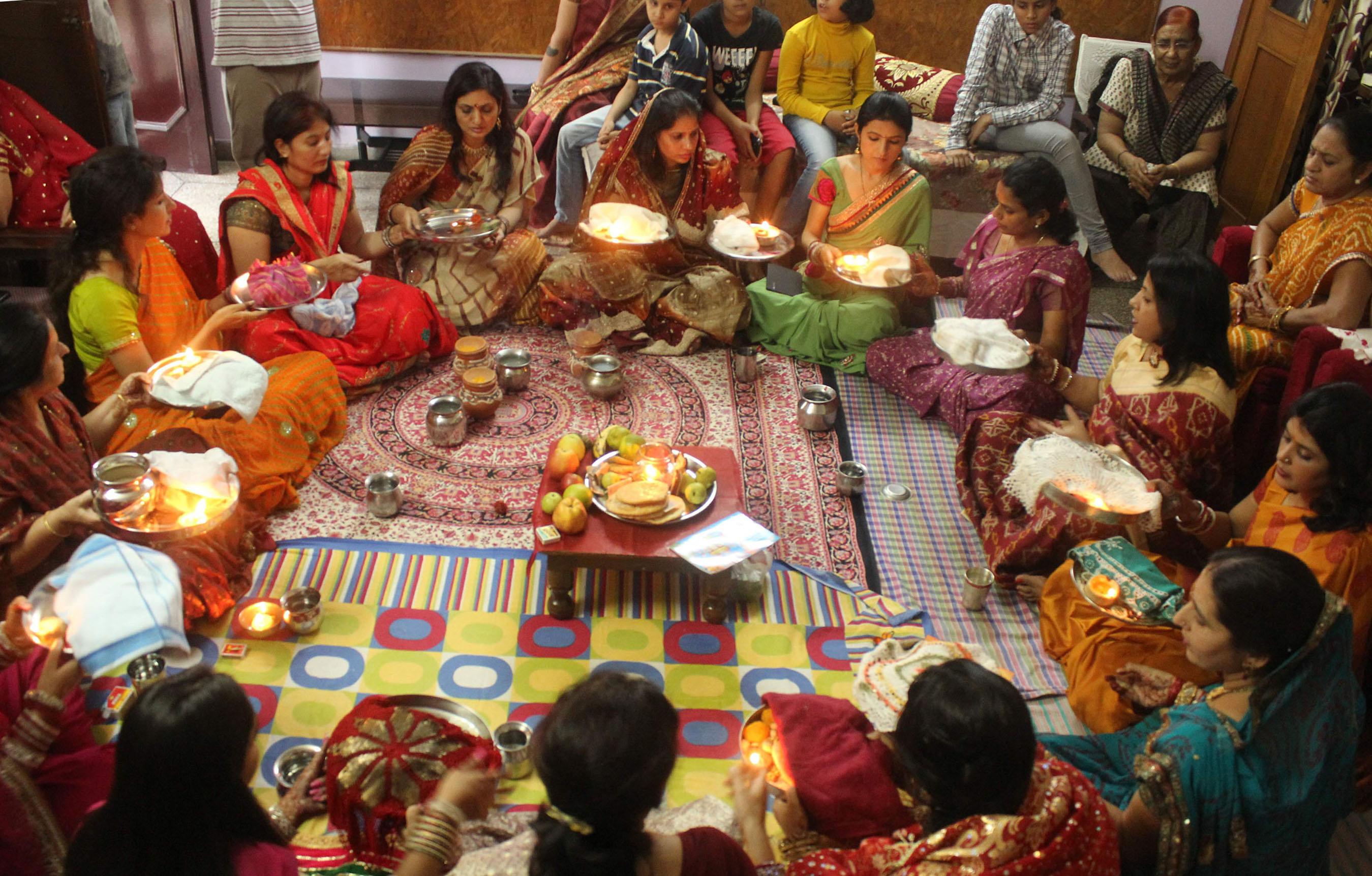 Karva Chauth, Durga Puja Festival