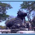 bull temple or nandi hills