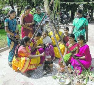 Bhogi Festival Celebrations in Andhra Pradesh