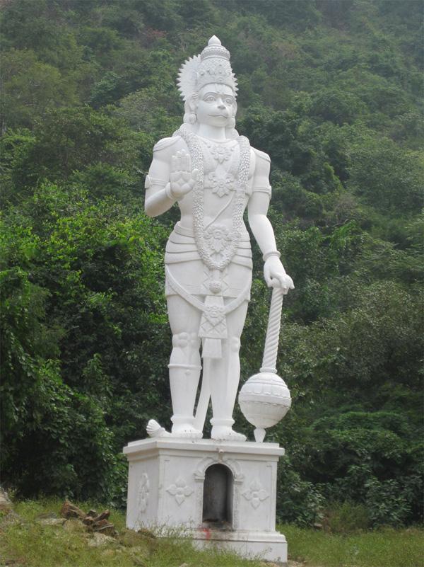 big hanuman photo
