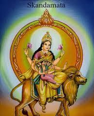 goddess photo of maa skandamata sixth day of navaratri