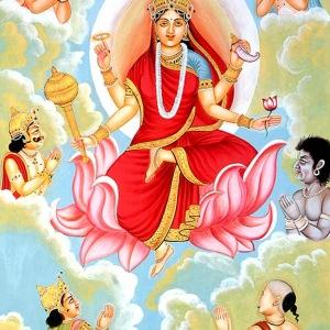 Hindu goddess maa siddhidatri devi is the ninth of the form of lord durga devi